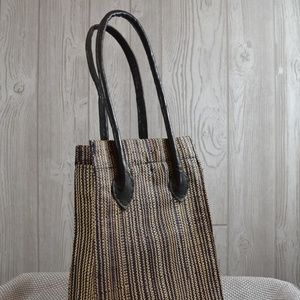 Handbags - Woven Tote Bag Handbag